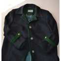 CAPPOTTO LANA STILE TIROLESE tg. 48 Collection Schlos Orth