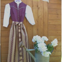 ABITO TIROLESE tg. 36  Dirndl Country Lady