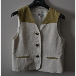 GILET  TIROLESE Tg 44/46 DONNA Country Line