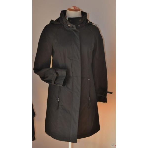 quality design 7b2af ecfad TRENCH DONNA COLORE NERO TG. 40