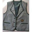GILET DONNA IN STILE TIROLESE Tg.XL