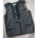 GILET DONNA IN STILE TIROLESE Tg.XL Tiffany Trachten