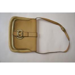 BORSA IN PELLE ORIGINALE Gold Pfeil Vintage