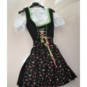 ABITO TIROLESE  tg.38 + CAMICIA  GREMBIULE Dirndl Stockenpoint