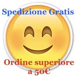 Approfitta della spedizione gratuita per gli ordini sopra i 50 EUR