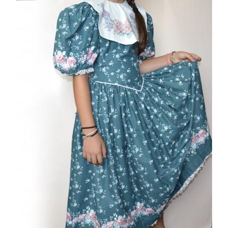 abito vintage ragazza